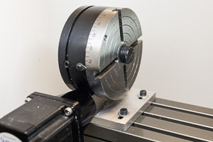 A small cnc rotary axis table