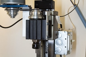 A benchtop cnc machine spindle
