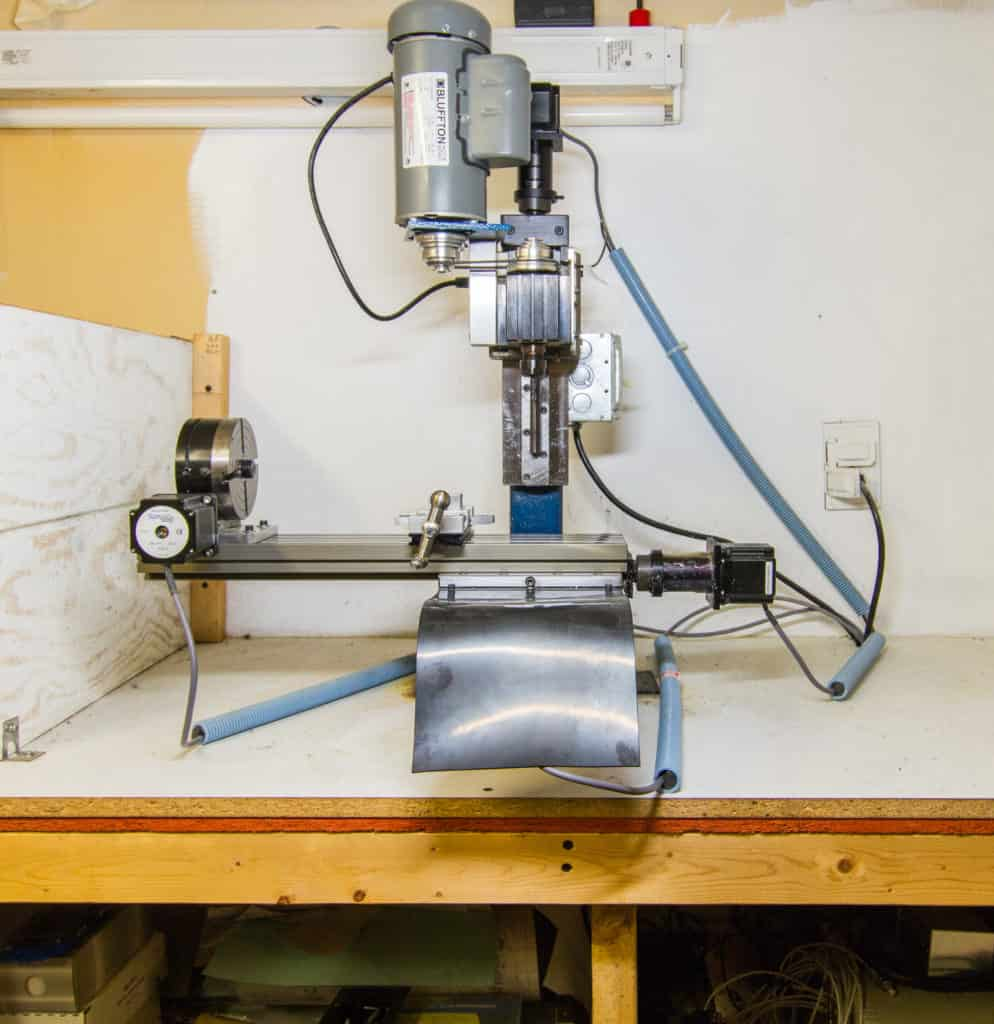 a benchtop cnc mill