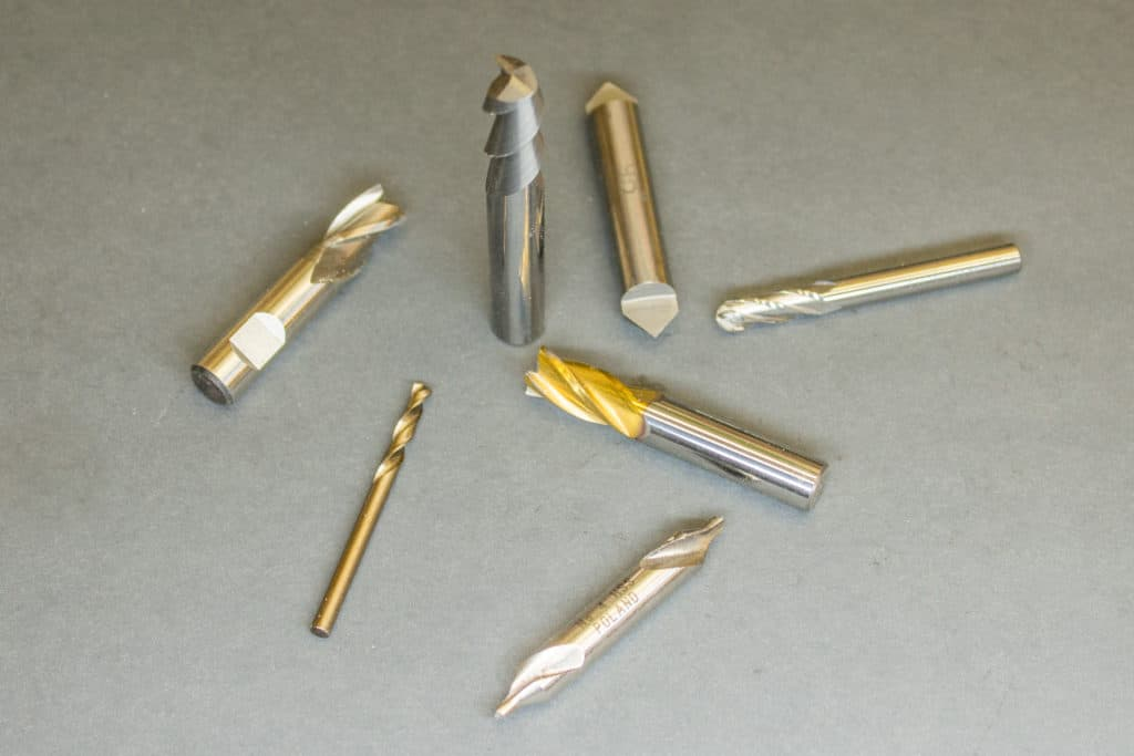 a selection of cnc cutters