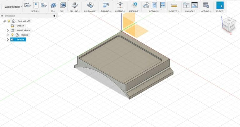 a part design in fusion 360