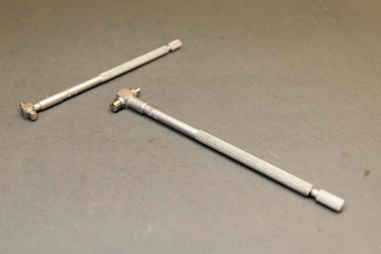 Two small telescoping gauges