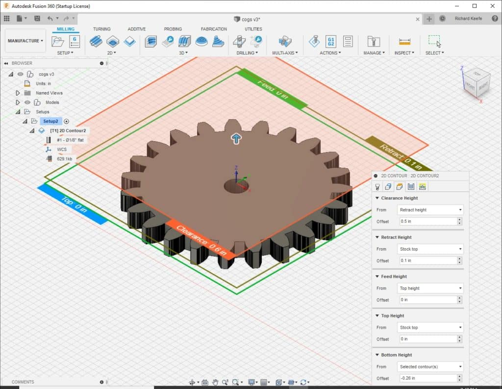 linking parameters in fusion 360