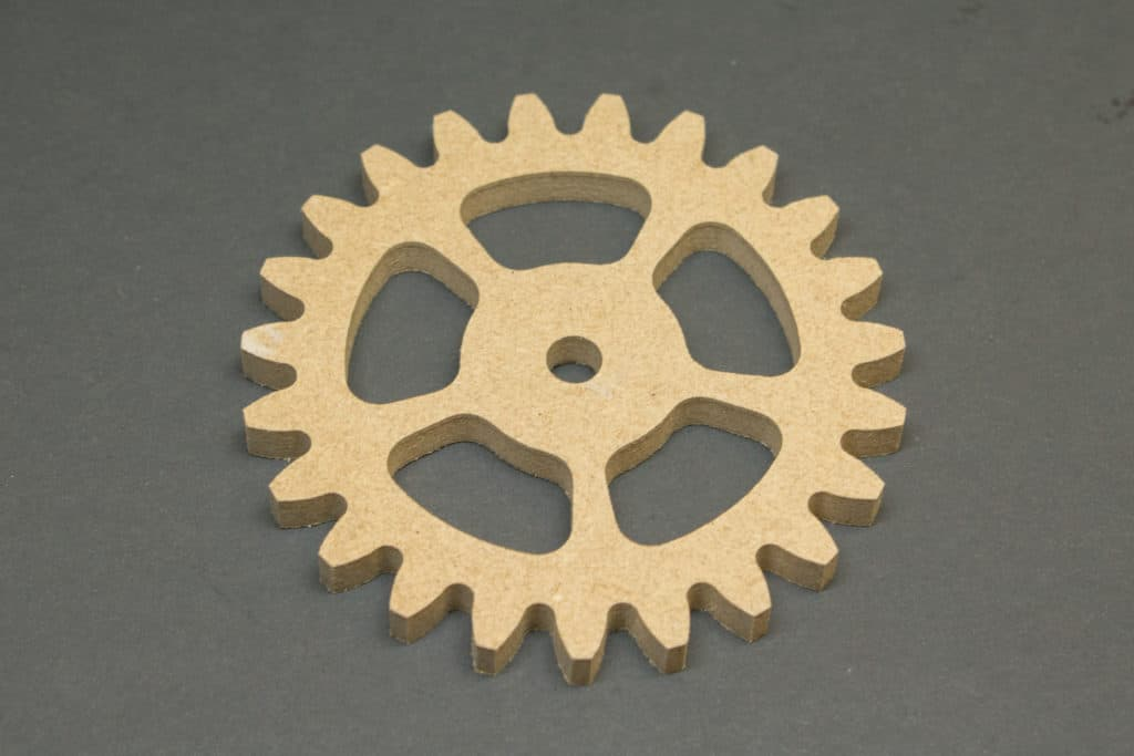 Finished gear wheel