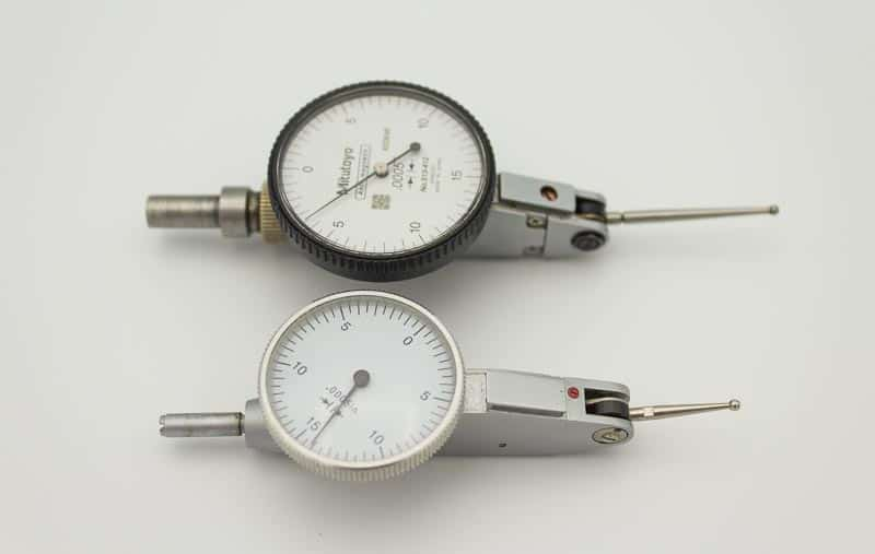 Two typical dial test indicators