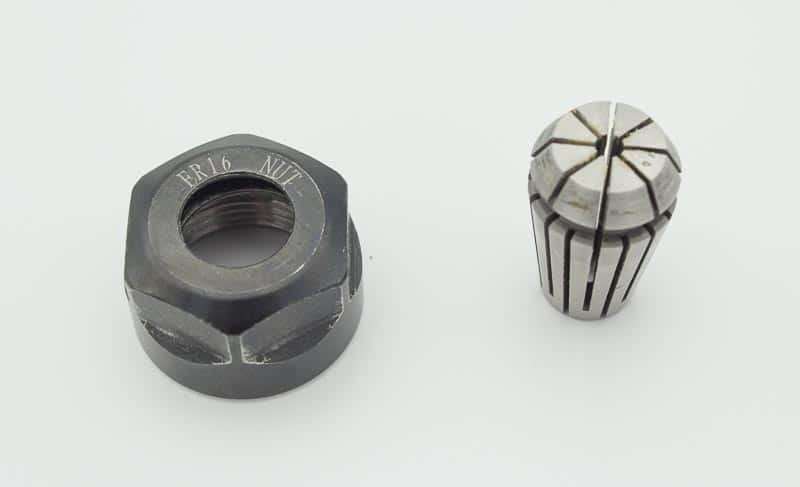 An ER nut and collet