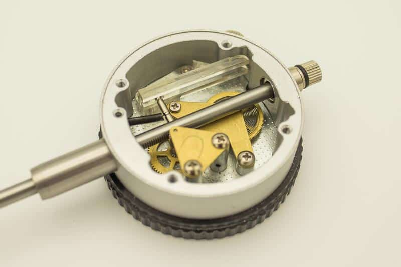 the inside of a dial indicator
