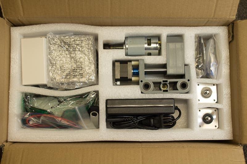 3018 box contents