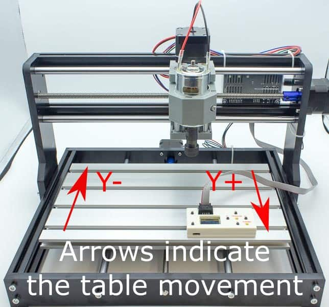 3018 Y axis movement