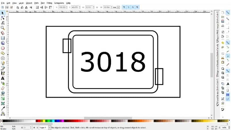 tabs added in inkscape