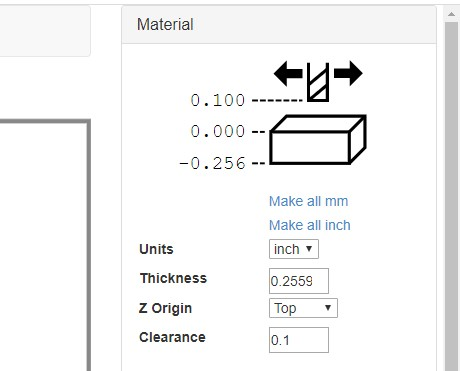 material option box in JSCut