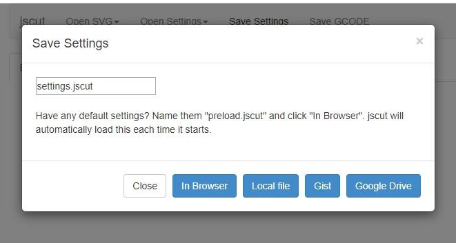 jscut save settings box