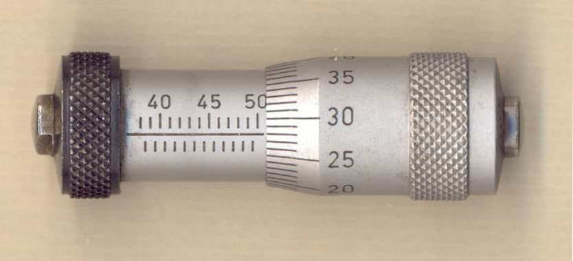 a barrel type inside micrometer