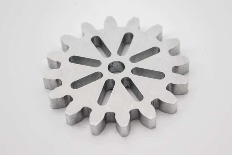 finished spur gear