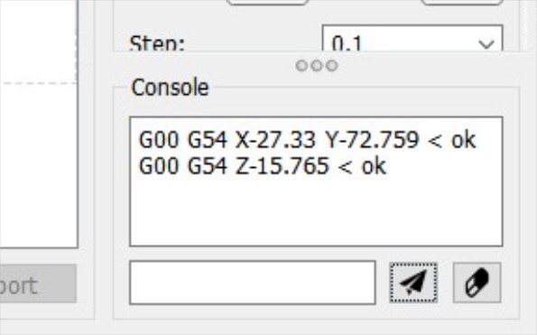 console implemented